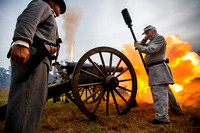 Boone Hall Civil War Battle 2014